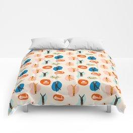 Hey, girls! Comforters