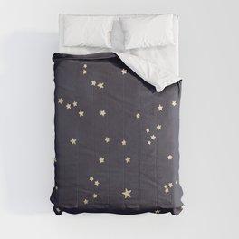 Gold Stars Comforters