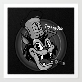 Pipsqueak Pete Art Print