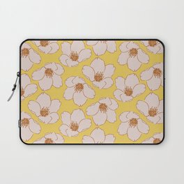 Blossom Me, Blossom You (Yellow) Laptop Sleeve