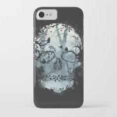 Dark Forest Skull iPhone 7 Slim Case