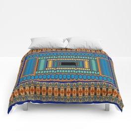 Soul Portal Geometric Print Comforters