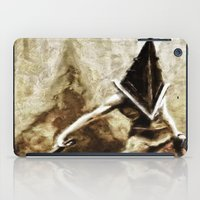 silent hill iPad Cases featuring Silent Hill Pyramid Head by Joe Misrasi