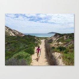 Wandering Surfer Canvas Print