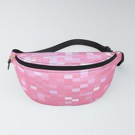 Bubblegum Pink Pixel Sparkle Fanny Pack