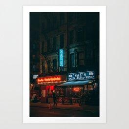 Broome Street, Little Italy Art Print