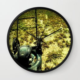 The Lawnmower Wall Clock