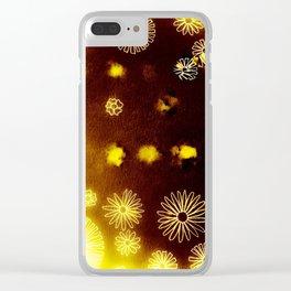 Mars Sunrise Clear iPhone Case