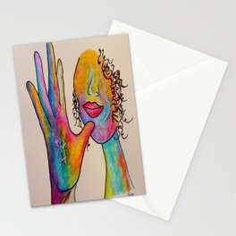 American Sign Language MOTHER Stationery Cards