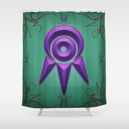 Seeker's Eye - Detailed Shower Curtain