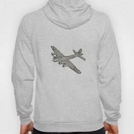 Boeing B-17 Flying Fortress airplane Hoody