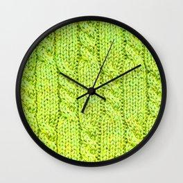 Knitting_020_by_JAMFoto Wall Clock