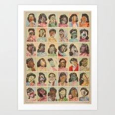FRIDAY THE THIRTEENTH Art Print