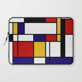 Mondrian Shape Art Laptop Sleeve