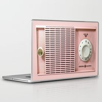 radio Laptop & iPad Skins featuring Old Radio  by ''CVogiatzi.