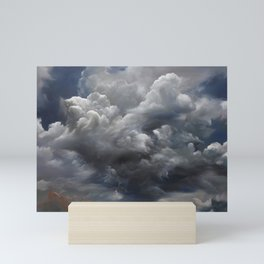 Burning Sky Mini Art Print