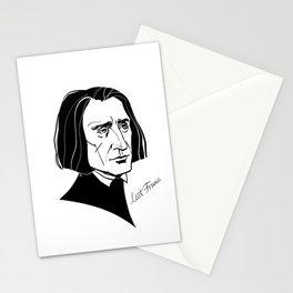Franz Liszt Stationery Cards