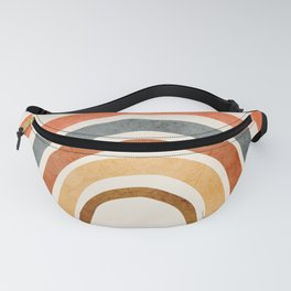 Abstract Rainbow 88 Fanny Pack