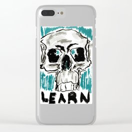 Learn: Skull Clear iPhone Case