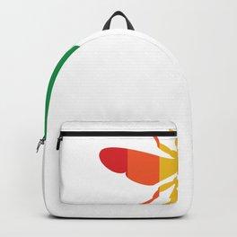 Pride Bee Proud LGBT Backpack
