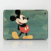 mickey iPad Cases featuring Mr. Mickey Mouse by Ed Burczyk