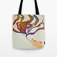 political Tote Bags featuring Political Views by AriesArtNW.com