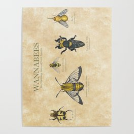 wannabees: Bee Mimicking Inects Poster