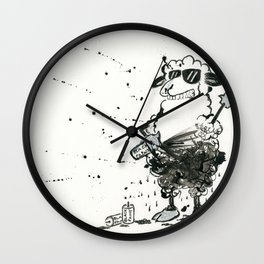 Black Sheep Wall Clock