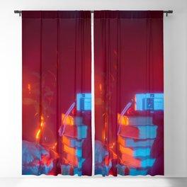 memento mori Blackout Curtain