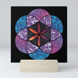 Fractal Seed of Life Mini Art Print