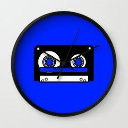 Compact Cassette 2 Wall Clock
