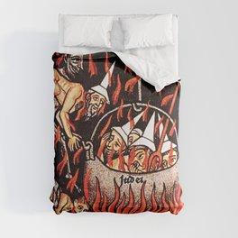 Devils cooking Dunces Comforters