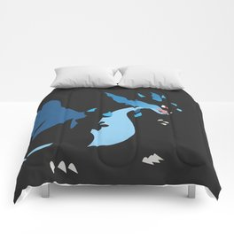Mega Charizard X PKMN Comforters