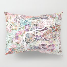 Prague map Pillow Sham