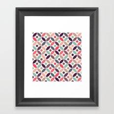Batik Kawung Framed Art Print