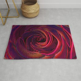hote colors rose Rug