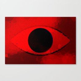 Eye Of The Beholder -redshifted- Canvas Print