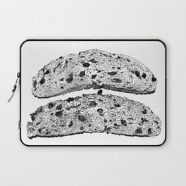 2 pieces of toast Laptop Sleeve