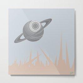"""""""Saturn Returns"""" Metal Print"""