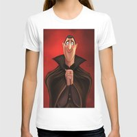 dracula T-shirts featuring Dracula by This Is Niniel Illustrator