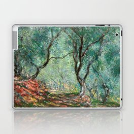Claude Monet - Olive Tree Wood in Moreno Garden - Impressionism Laptop & iPad Skin