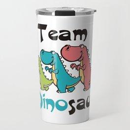 Team Dinosaur (2) Travel Mug