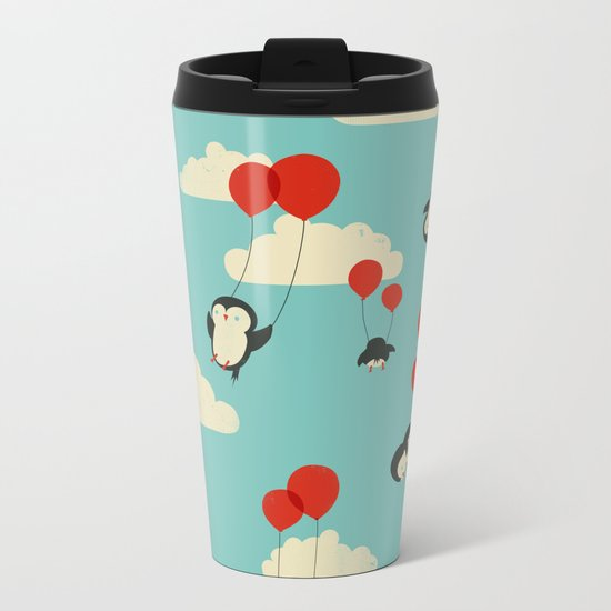 We Can Fly! Metal Travel Mug