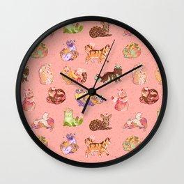 The Ice Cream Pawlor Wall Clock