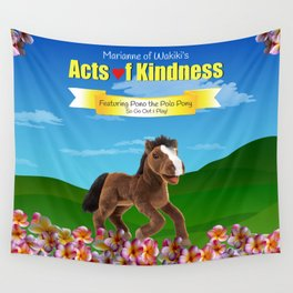 Pono the Polo Pony Wall Tapestry