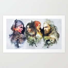 The Witcher 3 Art Print