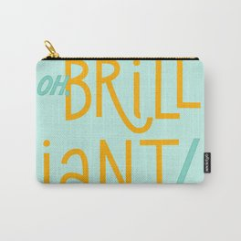 Oh, brilliant! (Doctor Who) Carry-All Pouch