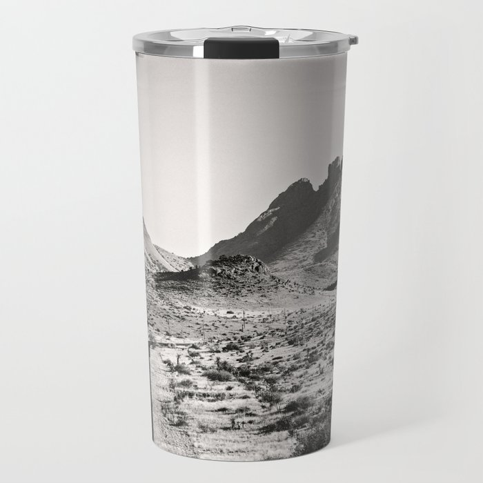 The Lost Highway III Black & White Travel Mug