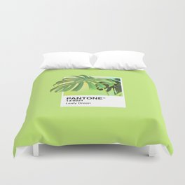 PANTONE SERIES – LEAFY GREEN Duvet Cover