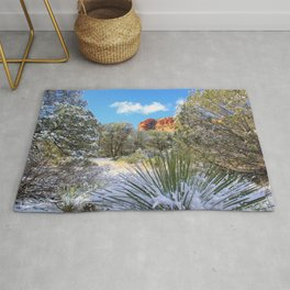 Sedona Winter  by Reay of Light Rug